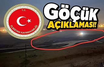 Kahramanmaraş'ta Elbistan Kaymakamlığı Göçük açıklaması!