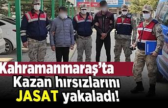 Kahramanmaraş'ta kazan hırsızlarını JASAT yakaladı!