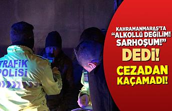 Kahramanmaraş'ta sokağa çıkma kısıtlamasını ihlal eden alkollü sürücü bekçiler tarafından yakalandı!