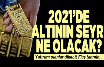 2021'de altın seyri ne olacak? Yatırımı olanlar dikkat! Flaş tahmin...