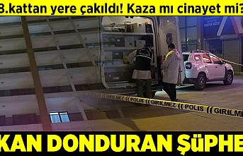 8.kattan yere çakıldı! Kaza mı cinayet mi? Kan donduran şüphe!