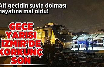 Altı geçidin suyla dolması hayatını mal oldu! Gece yarası İzmir'de korkunç son!