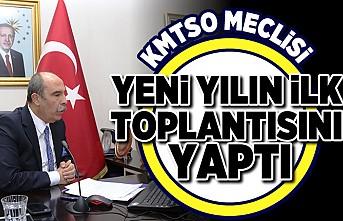 KMTSO MECLİSİ YENİ YILIN İLK TOPLANTISINI YAPTI