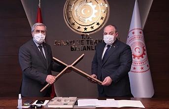 Sanayi ve Teknoloji Bakanı Mustafa Varank'tan Kahramanmaraş Metal Mutfak Eşyası AR-GE ve Tasarım Merkezi Projesine Destek