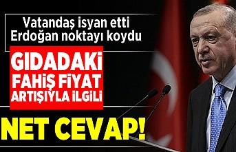 Vatandaş isyan etti! Erdoğan noktayı koydu!