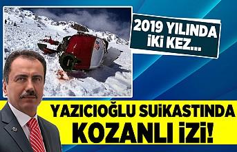 Yazıcıoğlu suikastında kozanlı izi! 2019 yılında iki kez...