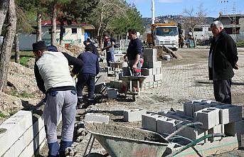 Elmalar Mahallesi'nde Çalışmalar Sürüyor