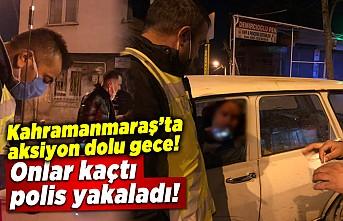 Kahramanmaraş'ta aksiyon filmlerini aratmayan sahne kameralara yansıdı!