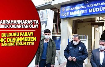 Kahramanmaraş'ta koca yürekli Mehmet, herkese örnek oldu!