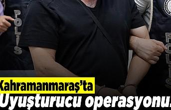 Kahramanmaraş'ta uyuşturucu operasyonu! 14 gözaltı!