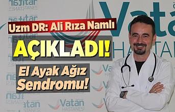 Kahramanmaraş'ta Vatan Hastanesi Doktoru Ali Rıza Namlı açıkladı!