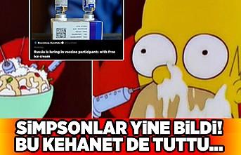 Simpsonlar yine bildi! Bu kehanet de tuttu...