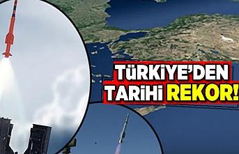 Türkiye'den tarihi  rekor!