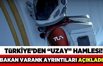 Türkiye'den 'uzay' hamlesi! Bakan Varank ayrıntıları açıkladı