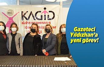 Gazeteci Yıldızhan'a yeni görev!