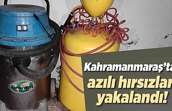 Kahramanmaraş'ta azılı hırsızlar yakalandı!