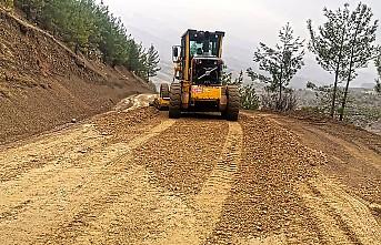 Kırsal Mahalle Yolları Yenileniyor