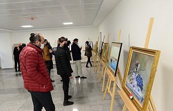 Üniversitemiz Güzel Sanatlar Bölümü Öğretim Elemanları Sergisi Açıldı