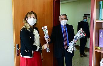Üniversitemiz Rektörü Prof. Dr. Niyazi Can, 8 Mart Dünya Kadınlar Gününü Kutladı