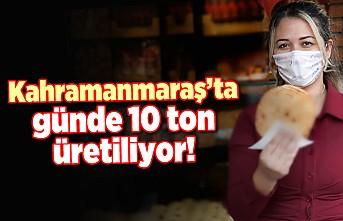 Kahramanmaraş'ta günde 10 ton üretiliyor!
