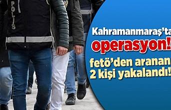 Kahramanmaraş'ta operasyon!  fetö'den aranan 2 kişi yaralandı!