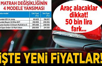 ÖTV değişti! Araç alacaklar dikkat, indirimli fiyatlar...