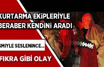 Bursa'da ilginç olay! Ormanda kurtarma ekibiyle beraber kendini aradı... Gerçek böyle ortaya çıktı