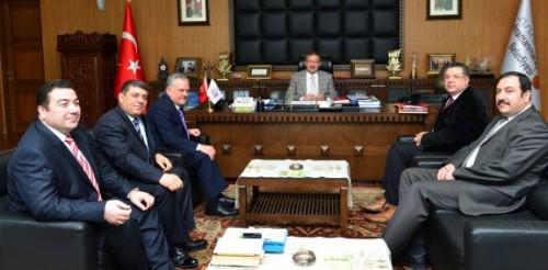 Mali Müşavirlerden Başkan Poyraz'a ziyaret..
