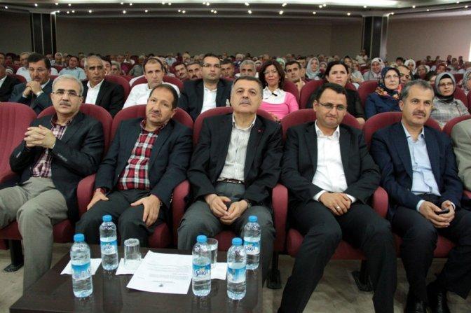 Nevzat Pakdil, Malatya İl Danışma Meclisi'ne katıldı