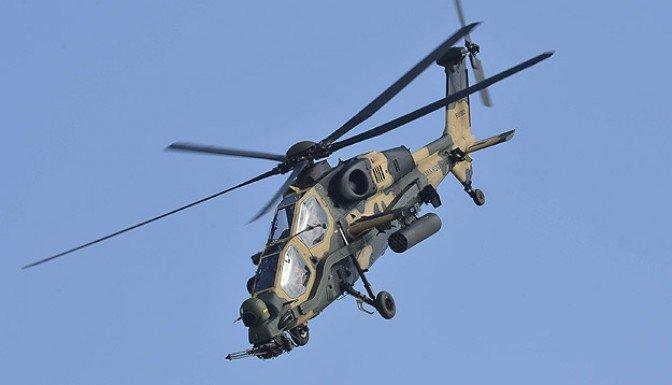 Gölbaşı'nda askeri helikopterle irtibat kesildi
