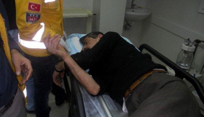 Gölbaşı-Kahramanmaraş yolunda kaza : 3 Yaralı