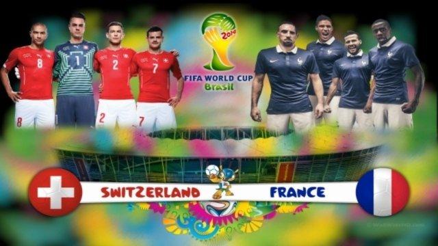Fransa'dan İsviçre'ye gol yağmuru