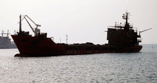 İran, Singapur yük gemisini vurdu!
