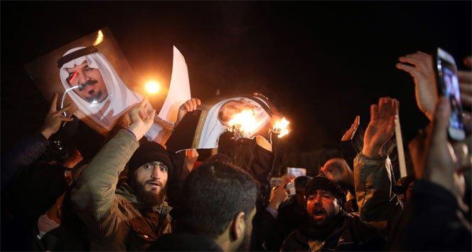 Suudi Arabistan İran'la diplomatik ilişkileri kesti!