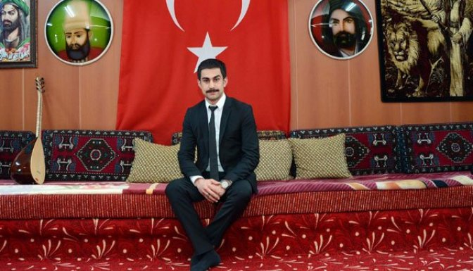Alevilerin en genç dedesi Eskişehir'de!