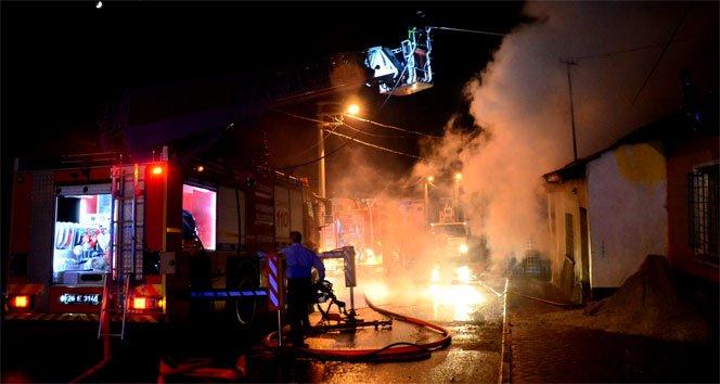Eskişehir'de ev yangını!