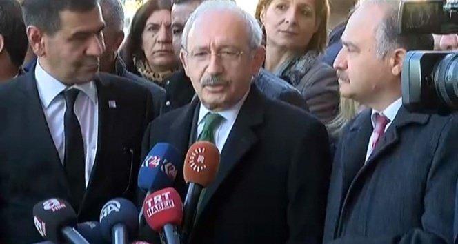 Kılıçdaroğlu Diyarbakır'da taziye törenine katıldı!