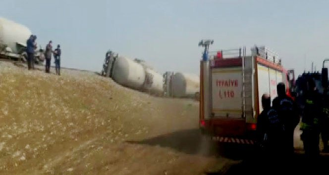 Diyarbakır'da trenin geçişi esnasında patlama!
