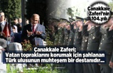 Kahramanmaraş'ta 18 Mart Şehitleri anma ve Çanakkale Zaferi'nin 104.yılına tören düzenlendi...