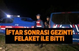 Bursa'da gezinti felaket ile bitti