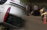 Hatay'da otomobil su kanalına devrildi! 4 ağır yaralı...
