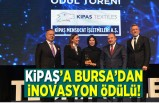 Kipaş'a Bursa'dan inovasyon ödülü!