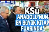 KSÜ Anadolu'nun en büyük kitap fuarında!
