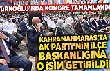 AK Parti Türkoğlu 7. Olağan Kongresi gerçekleştirildi.