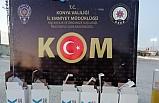 Konya'da kaçak akaryakıt ele geçirildi