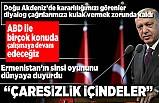 Son dakika: Başkan Erdoğan: Ermenistan'ın Türkiye'yi de çatışmanın içinde gösterme gayreti yaşadığı sıkışmışlık ve çaresizliğin ispatı!