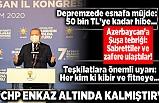 Başkan Erdoğan'dan AK Parti Kocaeli 7. Olağan İl Kongresi'nde önemli açıklamalar