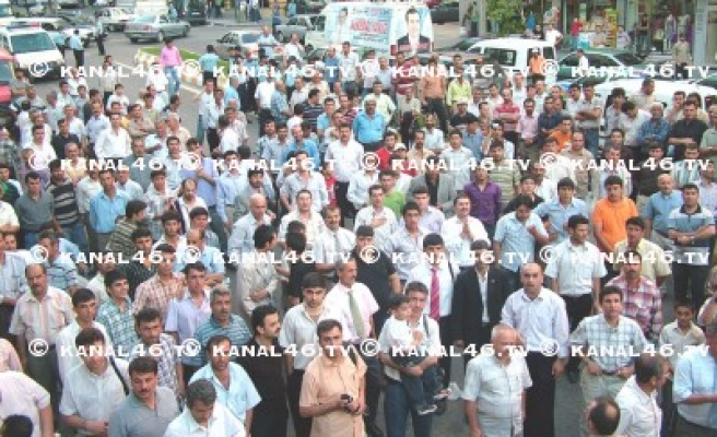 Kemal Yavuz'un seçim bürosu açıldı