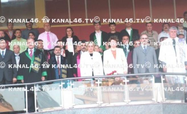 KSÜ 2008 mezunlarını uğurladı..
