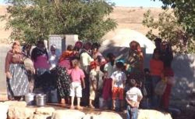 Pompa arızalanınca köylüler susuz kaldı!..